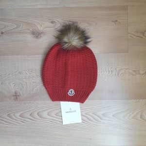 Moncler hat red